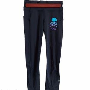 Lululemon Athletica x Soul Cycle black leggings